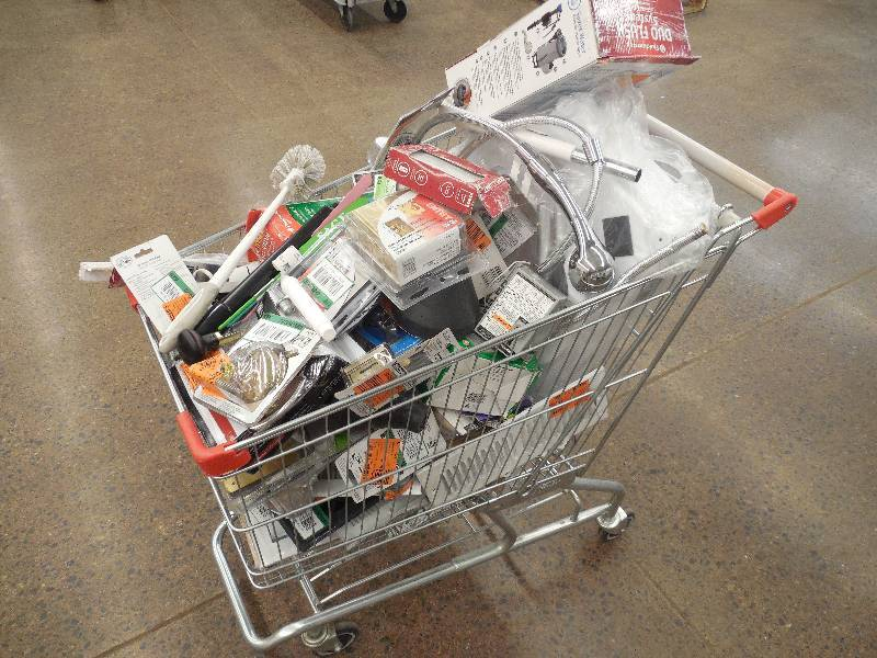 How to get items for your shopping cart