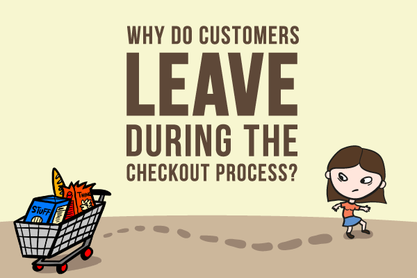 The reasons why people abandon the shopping process